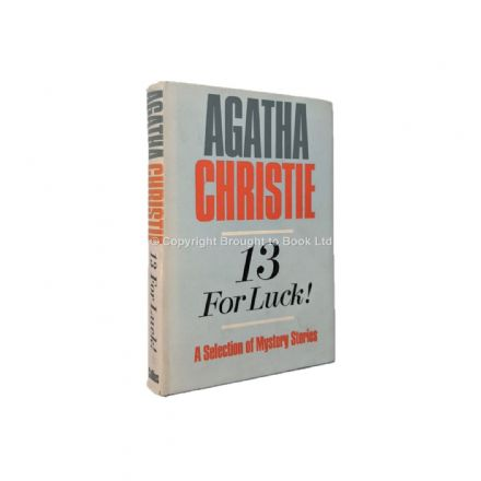 13 For Luck! by Agatha Christie First Edition Collins 1966